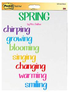 spring poem picture for blog
